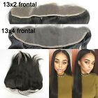 3 Part Way  Human Hair Straight Peruvian  Eart to Ear 13x2 lace Frontal closure