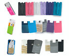 Credit Card ID Holder For Women & Men Universal Cell Phone Case Wallet Stick On