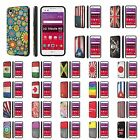 LG [Tribute HD] [X Style] LS676 Shock Absorbent Dual Armor Case  Design [K]