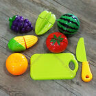 Внешний вид - Pretend Role Play Kitchen Fruit Vegetable Food Education Toy Cutting Set Kids e