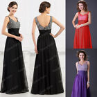 LONG BRIDESMAID FORMAL BALL GOWN PARTY COCKTAIL EVENING PROM SEQUINED MAXI DRESS