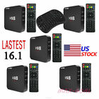 LOT V88 PRO Smart Android 6.0 TV Box Amlogic RK3229 Quad Core 16.1 HD 4K 1+8G