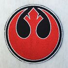 Rebel Alliance Star Wars Embroidered Iron on / Sew on Badge Patch Select Size $4.99 USD