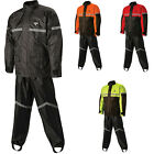 Nelson-Rigg Stormrider Motorcycle Waterproof 2-Piece Rain Suit Pants $58.49 USD on eBay