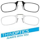 ThinOptics Reading Glasses All Strengths with Universal Pod / Case Brand New