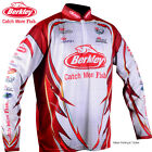 BERKLEY Mens PRO TOURNAMENT Long Sleeve FISHING SHIRT - beach camping - SPF 30+