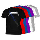Camiseta Metallica XXL- XL- L- M- S Sizes 01 James Lars Kirk EEUU T-Shirt Tee