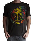 Woodstock Peace Love Music T-Shirt Unisex Retro Rock