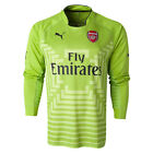Puma Men's Arsenal 14/15 Long Sleeve Away GK Jersey Lime Green 746377 04