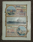 1907 Clark's Holland - GRAND TOUR  to the Mediterranean Orient Travel Book & Map