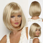 Ladies Sexy Fashion wig New sexy Women's short Mix Blonde Natural Hair wigs  K