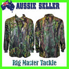 AUSSIE BUSH CAMO Hunting/Fishing Shirt SPF50+ Exclusive to Rig Master Tackle