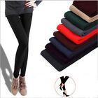 Women Warm Winter Thick Skinny Slim Footless Leggings Stretch Pants Trousers New