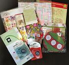 2/3 OFF $80-110 Retail Scrapbook Craft Lot Paper Packs Adhesives Embellishments