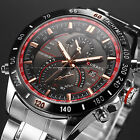 CURREN Luxury Men's Silver Stainless Steel Date Sport Quartz Wrist Watch New