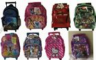 """Cars, Princess, Hello Kitty 12"""" Roller Back Pack"""
