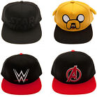 Hip Hop Cap Snapback Rapper Hat Baseball 3D Stitched Adult Star Wars/ Avengers