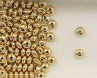 14K Gold Filled 5mm Rondelle Spacer Beads, Choice of Lot Size Price