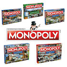 Brand new Monopoly board game – Regional editions inc. Guildford and Derby!