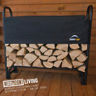 NEW LOG STORE RACK WOOD FIREWOOD STORAGE SMALL LARGE 4FT 8FT STORES + COVER