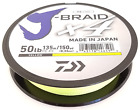 Daiwa X4 J-Braid Yellow 150yds! CHOOSE YOUR SIZE