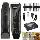 Pro Mute Pet Cat Dog Fur Hair Cordless Clipper /Trimmer /Animal Shaver Kit Set +Oil
