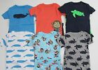 Carters Pajamas Boys Size 12 Month 2T 3T 4T 5T Nwt Snug Fitting 2 Pair