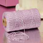 Lavender & White Duo 4-ply 100% Cotton Baker's Twine *Your Choice of Length*