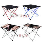 NEW Aluminum Alloy Folding Table Picnic Hiking Portable Desk Outdoor Lightweight