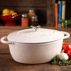 Pioneer Woman Timeless Beauty 7-Quart Dutch Oven with Bakelite Knob and...
