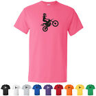 Girl Motocross Youth Dirt Bike Off Road Graphic Cool Kids T-Shirts