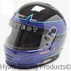 Pyrotect Pro Airflow Auto Racing Helmet SA2015 - Blue Rebel Graphic