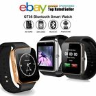 GT08 Smart Watch Bluetooth Phone Mate Wrist Android IOS Samsung iPhone Huawei LG