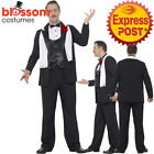CA159 Mens Curves Gangster Plus 1920s 20s Mafia Godfather Fancy Dress Up Costume