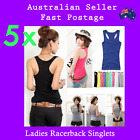 Womens Ladies Singlets Casual Gym Bulk Buy 3 designs