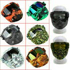 Flexible Goggles Glasses Face Mask Motorcycle Riding MX ATV Dirt Bike Protector