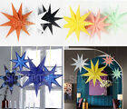 Hanging Star Septegram Wedding Birthday Party Home Decoration Baby Shower