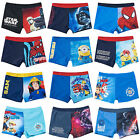 Boys Swimming Trunks Swim Shorts Star Wars Paw Patrol Minions Ages 3-12 Years