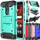 For ZTE Grand X 4 Z956 Phone Hybrid Damon Armor Shockproof Hard Clip Case Cover
