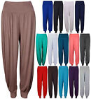 WOMENS HAREM TROUSERS ALI BABA LONG PANTS BAGGY LADIES LEGGINGS PLUS SIZE 8-26