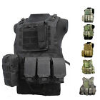 Tactical Military SWAT Police Airsoft Molle Combat Plate Car