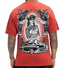 PS Sullen Art Collective Men's West Side Merc T-Shirt Red SCM1010X-RD
