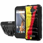 Coolpad [Catalyst] Defender Armor Case Holster Kickstand [Screen Protector] - G