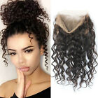 Body Wave 360 Lace Frontal Lace Band Frontals Closure Virgin Human Hair +Strap