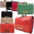 Small Patent Matinee Clasp Women Wallet Designer Ladies Purses - ANNA SMITH LYDC