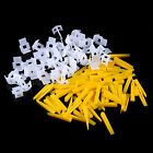 200 Tile Leveling System - 100 Clips /100 Wedges - Floor Wall Plastic Spacers