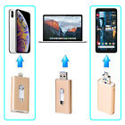 64GB Lightning Flash Drive USB Memory Stick Disk 3-in-1 for Android iOS iPhone