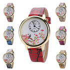 Sale New Women Snakeskin Pattern Leather Roman Analog Quartz Wrist Watch