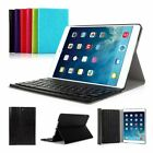 Rimovibile Tastiera per iPad 2 3 4/Air/Mini Italiana Bluetooth Wireless+Cover