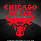 """Chicago Bulls NBA Logo Vinyl Decal Sticker - 4"""" and Larger - 30+ Color Options! on eBay"""